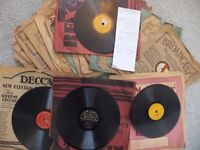 Selection of Old Pre-vinyl Records Batch (3 of 3)