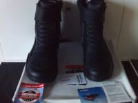 Probiker STREET COMPACT short Motorcycle Bike boots Size UK 5 Eu 38 Brand New in box with tags