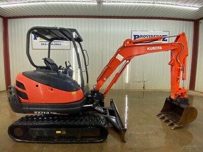 2016 Kubota Kx71-3 Mini Orops Compact Track Excavator