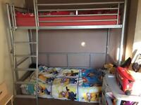 REDUCED!! Cabin bed comes with desk