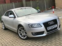 2008 AUDI A5 1.8 T FSI SPORT COUPE PETROL MANUAL SILVER GREAT DRIVE LEATHERS NOT A4 A3 6 3 SERIES