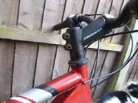 Mountain bike = two Frames