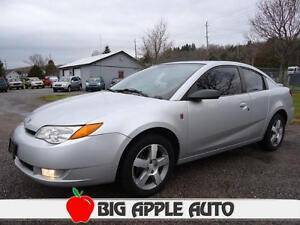 2007 Saturn ION 3 Quad Coupe Sunroof