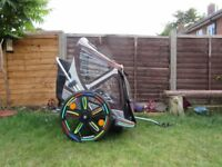 Bellelli Bike Taxi Child Bike Trailer. Good condition. Twin child bike trailer.
