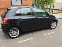 Toyota Yaris 1.4 D-4D SR 5DR, Alloy wheels, £30 Tax, 2 Owners Black Low Mileage Kenwood Music System