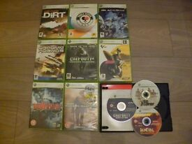 X Box 360 Games Bundle