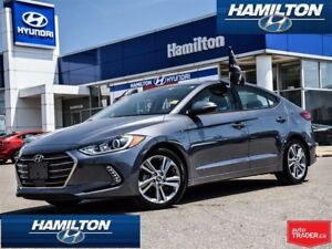 2018 Hyundai Elantra | GLS | LEATHER | ROOF | ALLOYS | BACK UP C