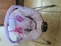 Girl Bouncy Chair ~ Like New ~ **NeedGone**