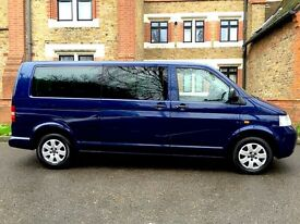 Volkswagen Transporter Auto 2.5 TDI Diesel Automatic Mobility , 1 Owner From New , 8 Seater