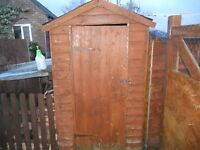 2 Sheds for sale 8x6 and 6x4