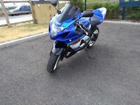 Suzuki GSX-R 600 (599cm3) K5 2005 - Sports BiKE - SALE - MOT - Summer Bargain !!!