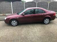 2003 FORD MONDEO 5 DOOR HATCHBACK, ALLOYS. C/D PLAYER, LONG MOT. TAXED.