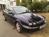 Lovely Jaguar X-type 2006 2.0tdci low mileage fully loaded with unmarked leather & sat-nav