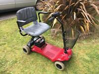 Fantastic Shoprider lightweight compact mobility scooter,new batteries,free delivery 40 miles