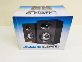 ALESIS ELEVATE 3 PROFESSIONAL ACTIVE STUDIO MONITOR