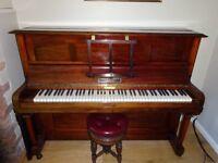 Beautifully restored upright piano