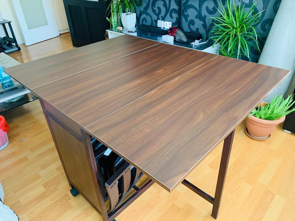 Brand New Folding Dining Table Space Saver In Whitechapel