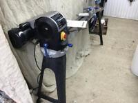 Fox revolving head Variable Speed 1hp motor woodturning wood lathe