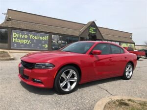 2017 Dodge Charger SXT/ LEATHER / SUNROOF / 20 RIMS