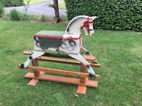 Vintage Children's Rocking Horse
