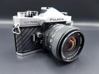Fujica ST705w film camera - Carbon Fibre