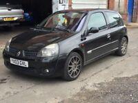 Renault Clio 172 spares or repairs