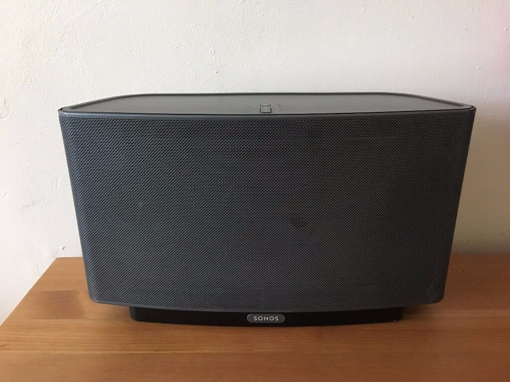 sonos play 5 gen 1 black wireless speaker in newcastle. Black Bedroom Furniture Sets. Home Design Ideas