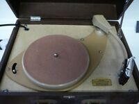 HMV His Masters Voice Vintage turntable record player deck
