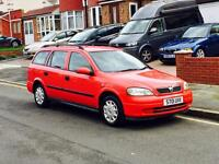 Vauxhall Astra 1.6 ESTATE, Long MOT, Service History, Only 1 Former Keeper,Cheap 4 Insurance,Air Con