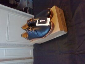 two brand new in there boxes mens casual dress leather light oxford flats shoes size 12 and size 11