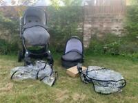 egg® Special Edition Stroller And carry cot - Pewter Grey