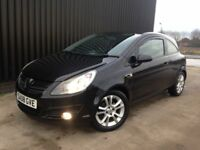 2008 Vauxhall Corsa 1.2 i 16v SXi 3dr Service History, 12 Months MOT, 1 Month Warranty, May PX