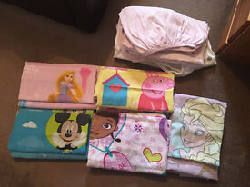 5 Toddler Bedding Sets and 4 Fitted Sheets