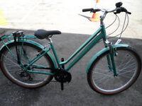 Raleigh Pioneer Trail Ladies Hybrid Leisure City Step Through Bike Brand New