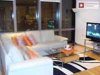 Stunning 2 Bed + 2 Bath Apartment in West India Quay ---- E14 4EF ---- Available Now!!!