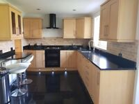 Fitted granite kitchen