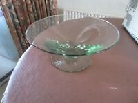 Glass Fruit Bowl for sale