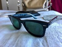 Ray-Ban Wayfarers (Black & Polarised)
