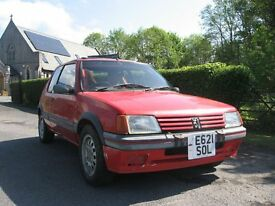 peugeot 205 gti 1900 , rally race , track good spec project