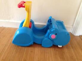 Fisher price ride on and walker