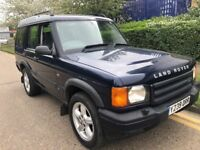 LAND ROVER DISCOVERY TD5 DIESEL 2001 7 SEATER LEATHER PANORAMIC ROOF CLEAN CAR