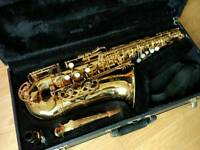 Buffet Crampon Evette Alto Saxophone with Yamaha 4C Mouthpiece