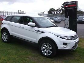 LAND ROVER RANGE ROVER EVOQUE 2.2 eD4 Pure 5dr [Tech Pack] 4wd Manual (white) 2012