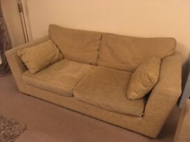 Large two seater sofa and large two seater sofa bed