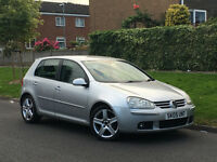 ★VOLKSWAGEN GOLF 2.0 GT TDI★ + FULL BLACK LEATHER + CD CHANGER + VW