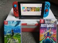 Nintendo switch x 2 games