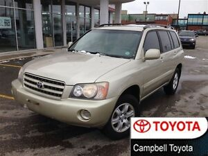 2001 Toyota Highlander 4X4 GOOD TIRES CLOTH INTERIOR