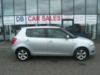 DIESEL!! 2010 10 SKODA FABIA 1.6 SE TDI CR 5D 103 BHP **** GUARANTEED FINANCE **** PART EX WELCOME
