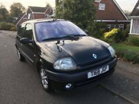 1999 Renault Clio RXE 1.6l for sale with 12 months MOT and part service history! 106k milage