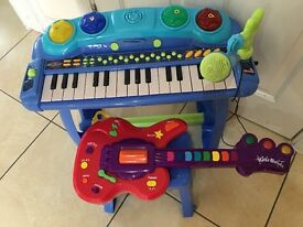 Guitar & Piano (Battery operated)